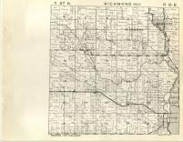 Richmond, Wescott T27N-R15E, Shawano County 1945